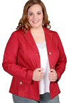 smart red jacket from TORRID