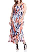 Plus size global print dresses from Bloomingdale's
