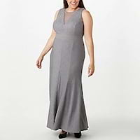 Plus size maxi dresses from Dressbarn