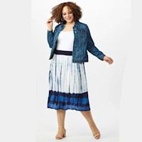 Plus size skirts from Dressbarn
