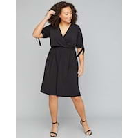 Plus size little black dresses from Lane Bryant