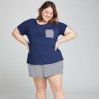 Plus size pajamas from Lane Bryant