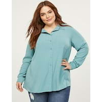 Plus size shirts from Lane Bryant