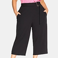 Plus size culotte pants and gauchos from Macy's