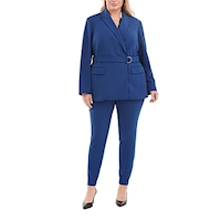 Macy's plus size suits and suit separates